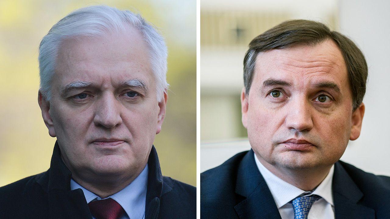 Ugrupowania Zbigniewa Ziobry i Jarosława Gowina nie ciesząsięzaufaniem wyborców (fot. Gettyimages)