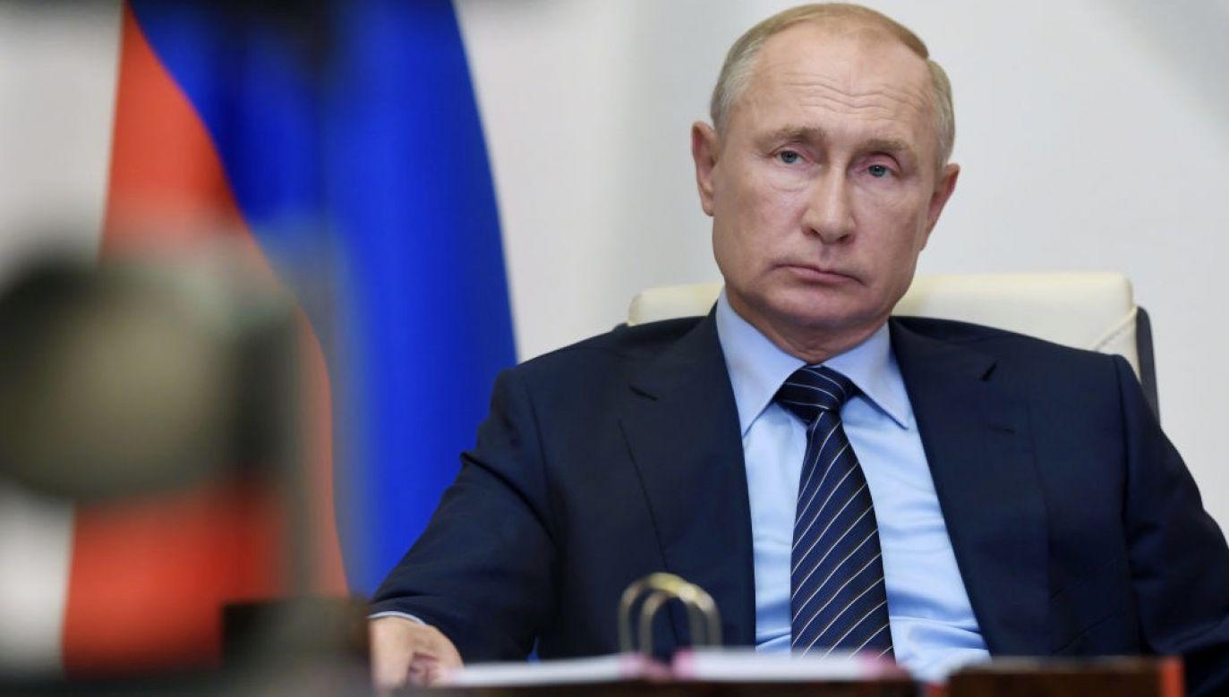 Prezydent Rosji wysłał depeszę gratulacyjną (fot. Alexei Nikolsky\TASS via Getty Images)