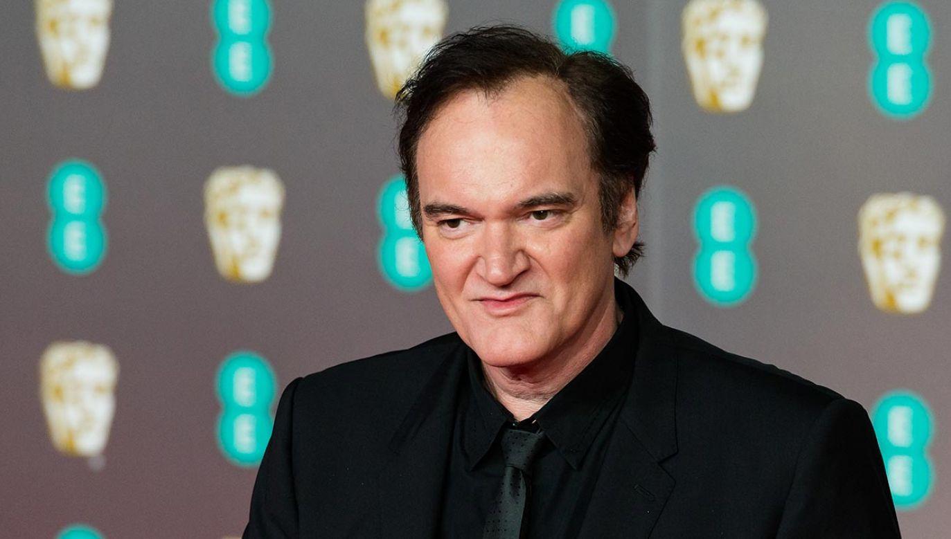 """Quentin Tarantino napisze powieść na podstawie filmu """"Pewnego razu... w Hollywood"""" (fot. Wiktor Szymanowicz/Barcroft Media via Getty Images)"""