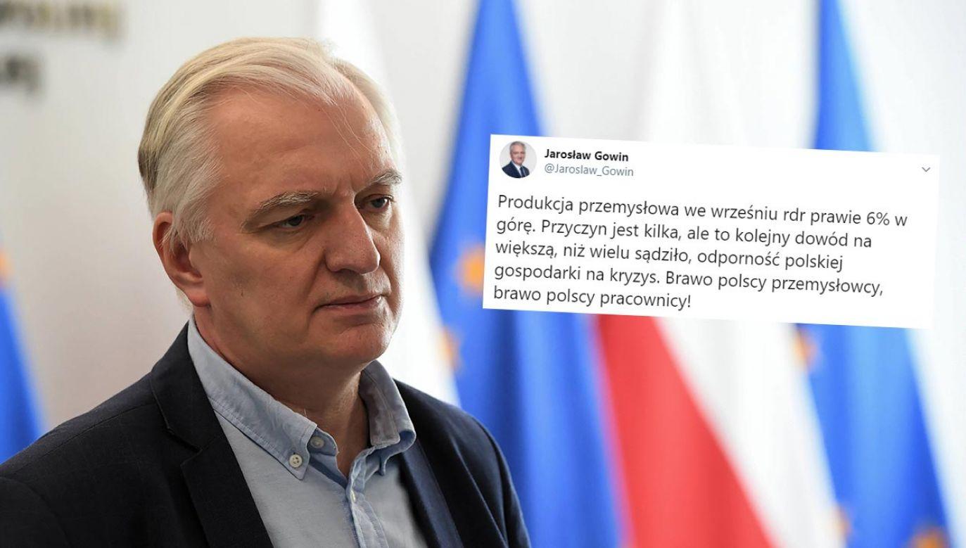 Przyczyn jest kilka – ocenił Jarosław Gowin (fot. PAP/Radek Pietruszka)