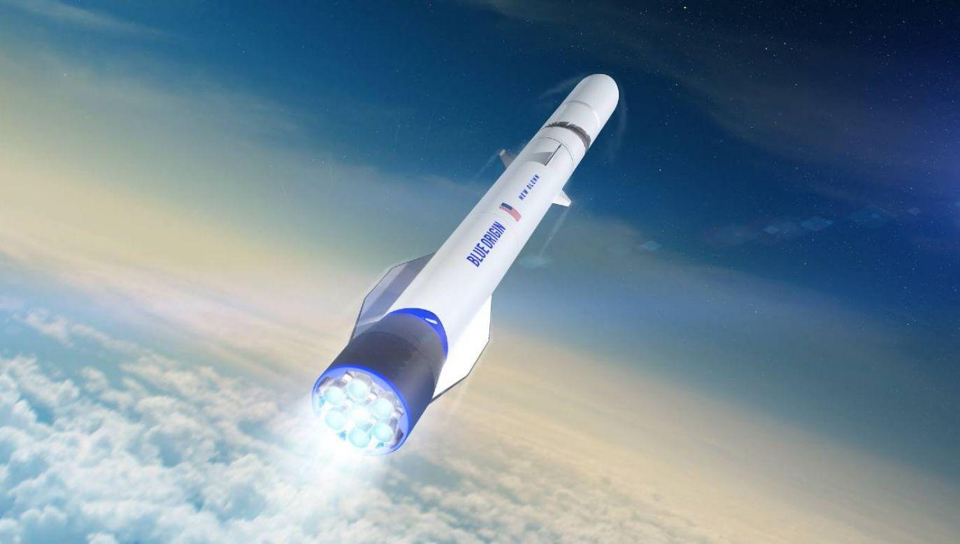 Na lot będą mogli sobie pozwolić celebryci i bogacze (fot. Blue Origin/mat.pras.)