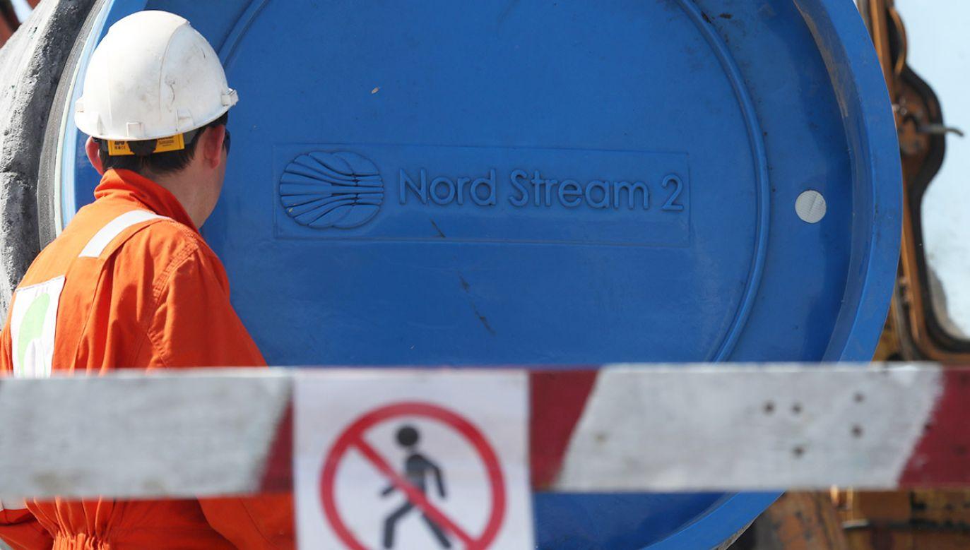 Dzięki budowie drugiej nitki gazociągu Nord Stream do Niemiec trafi rocznie o 55 mld metrów sześciennych rosyjskiego gazu więcej niż dotychczas (fot. REUTERS/Anton Vaganov)