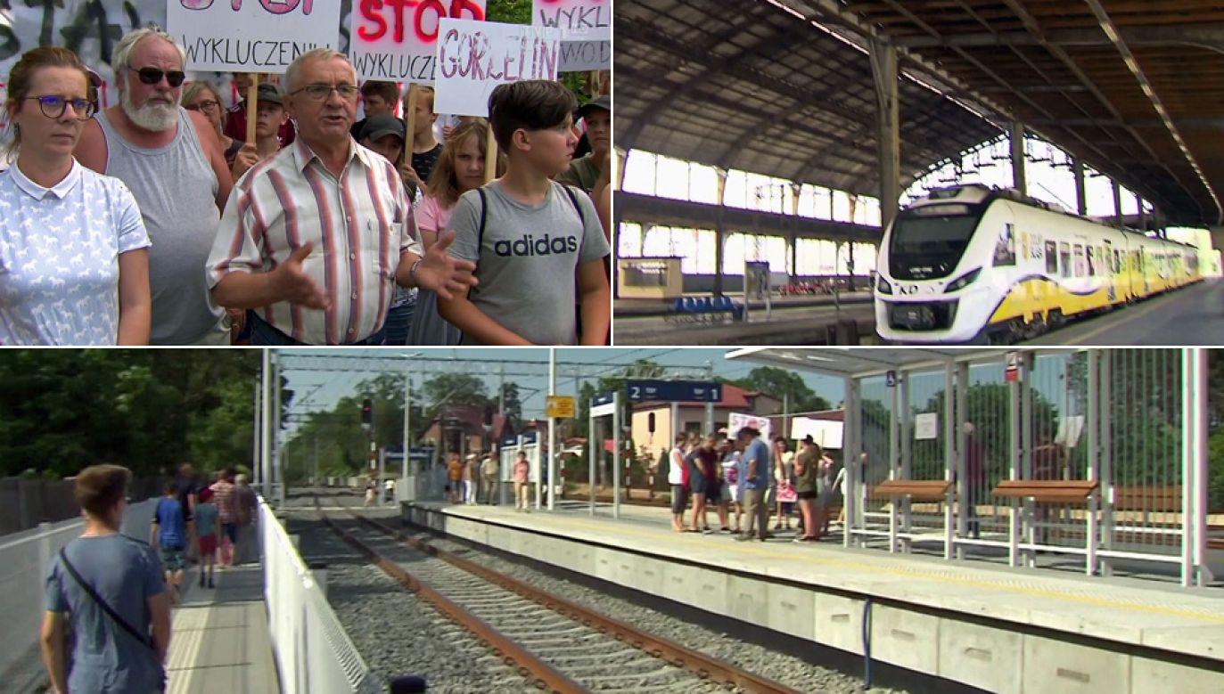 Mieszkańcy Raszówki dopięli swego (fot. TVP1)