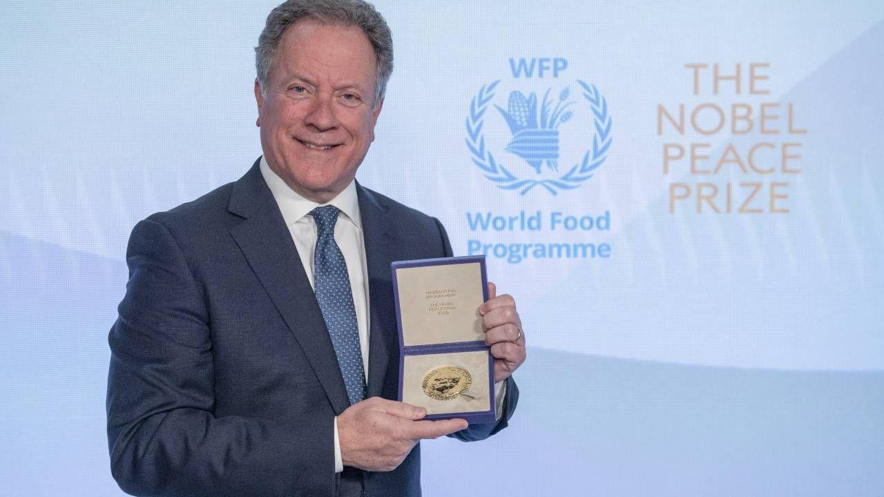 W zeszłym roku Pokojowa Nagroda Nobla została wręczona w Rzymie (fot. Rein Skullerud/WFP via Getty Images)