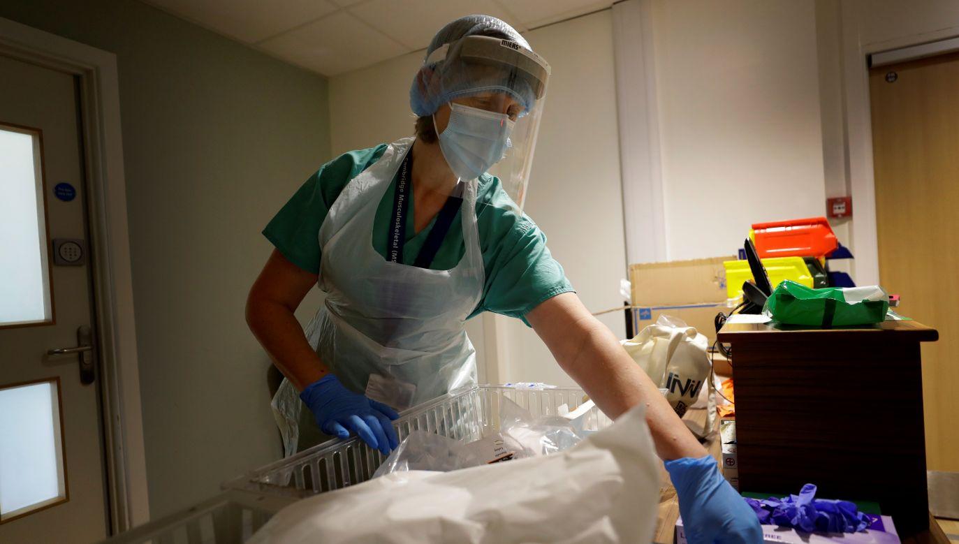 Ponad 66 i pół tysiąca osób spośród stu jeden tysiąca hospitalizowanych zostało wyleczonych (fot. Reuters)