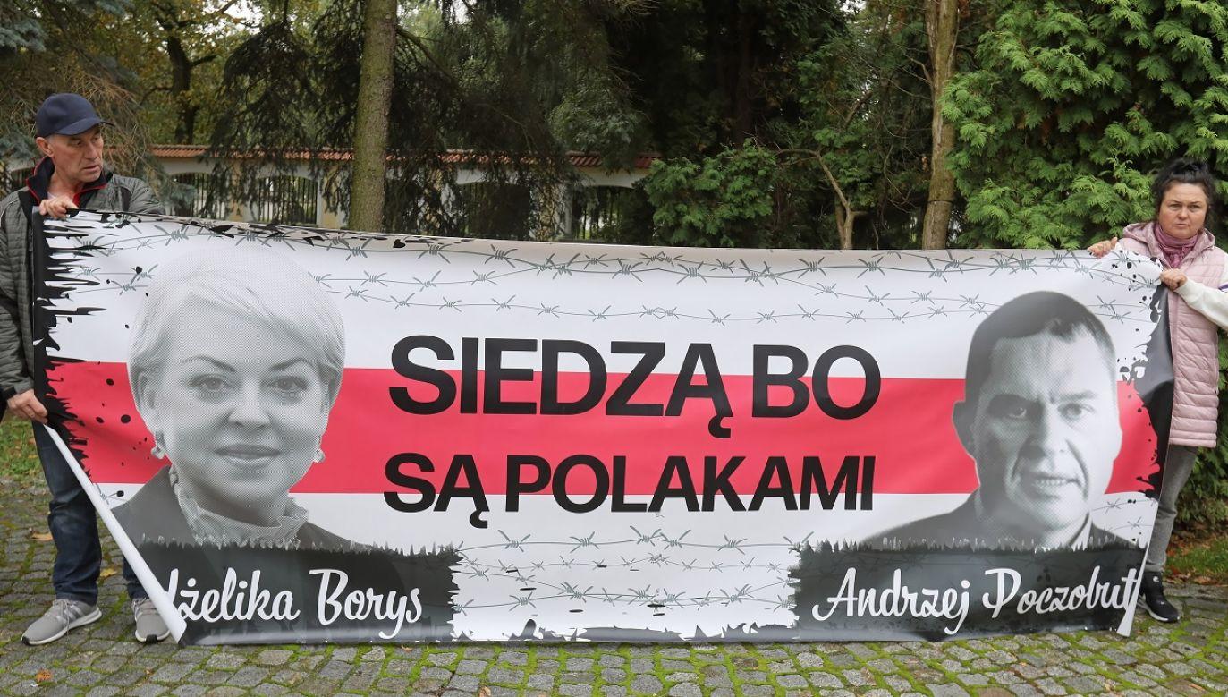 W tym samym areszcie, co Andżelika Borys jest również przetrzymywany Andrzej Poczobut (fot. PAP/Artur Reszko)