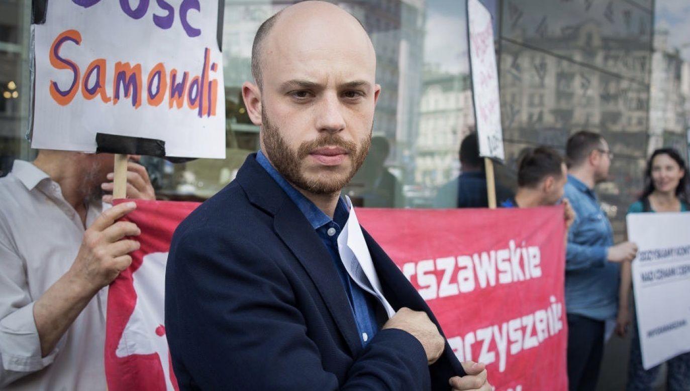 Miejski aktywista został skazany w sprawie córki Ćwiąkalskiego (fot. Mateusz Wlodarczyk/NurPhoto via Getty Images)