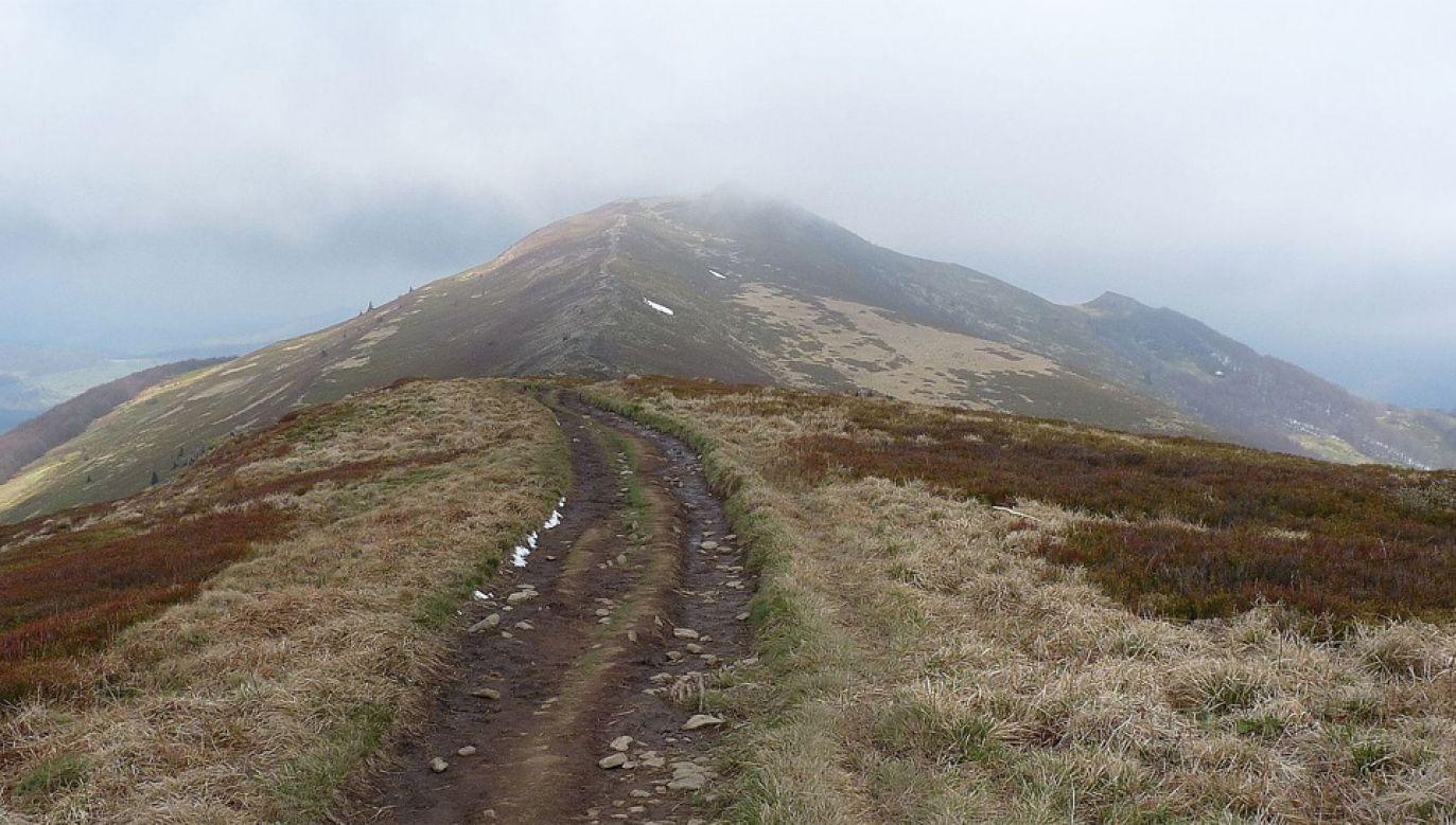 W Bieszczadach i Beskidzie Niskim są trudne warunki do uprawiania turystyki pieszej i rowerowej (fot. Wiki 3.0/marek7400)