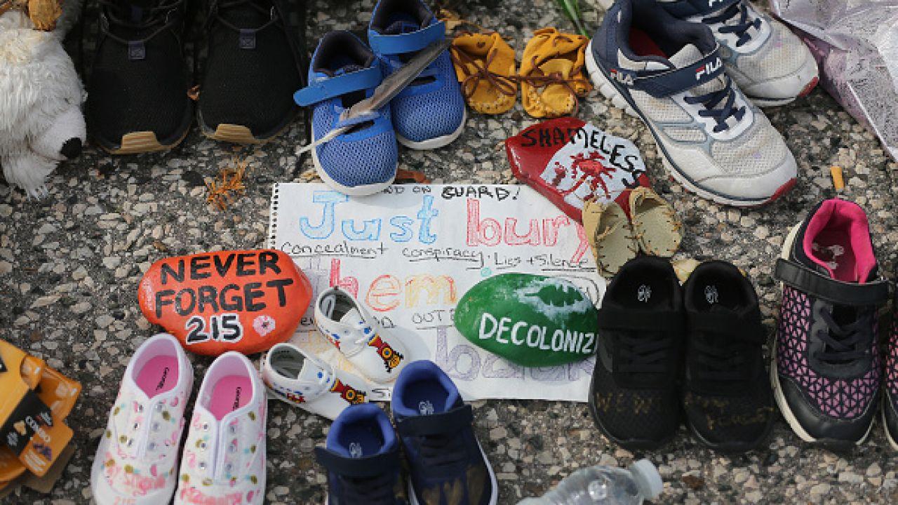 Na początku czerwca w Kolumbii Brytyjskiej odnaleziono 215 grobów (fot. Getty Images)