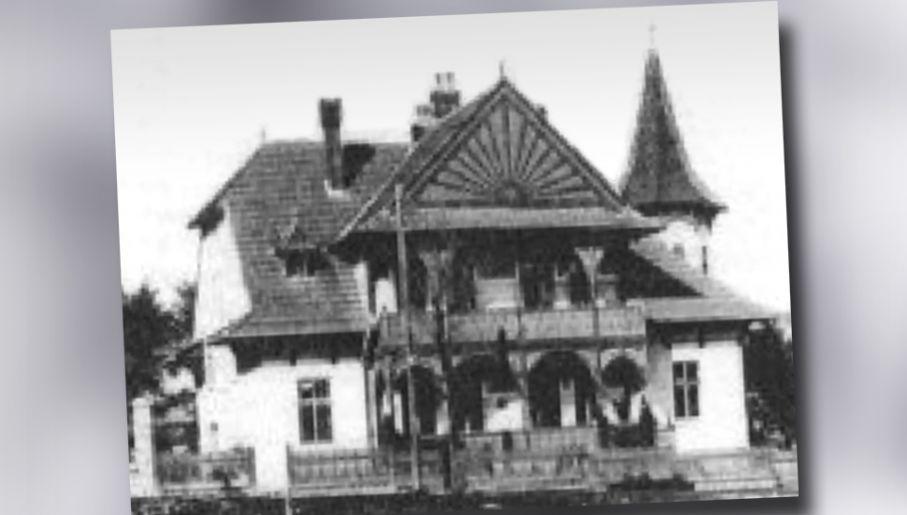 Sztab zgrupowania mieścił się w willi państwa Wasilewskich (fot. IPN)