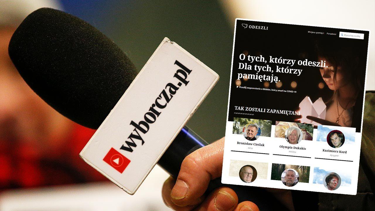 """Dziennikarz """"GW"""" oddelegowany do serwisu Odeszli.pl (fot.  Jaap Arriens/NurPhoto via Getty Images)"""