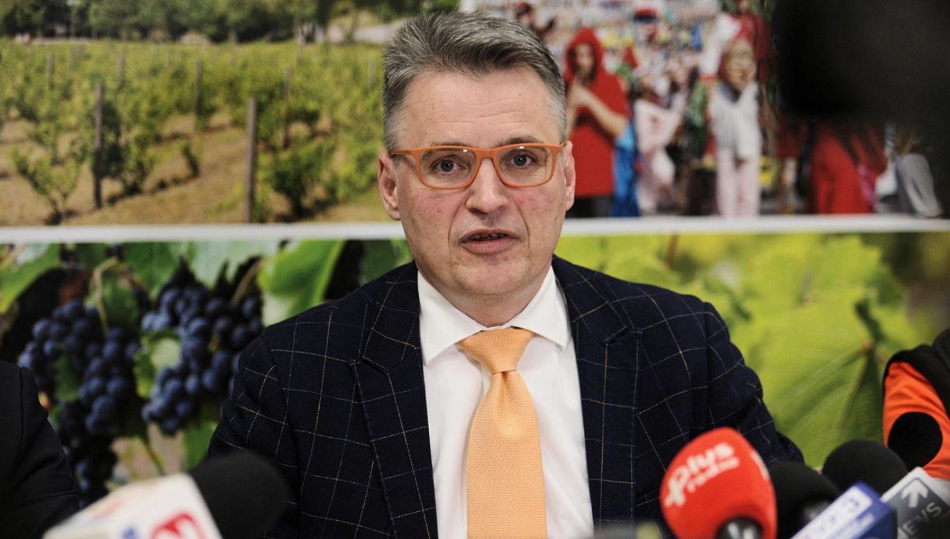 Janusz Kubicki (fot. PAP/Lech Muszyński)