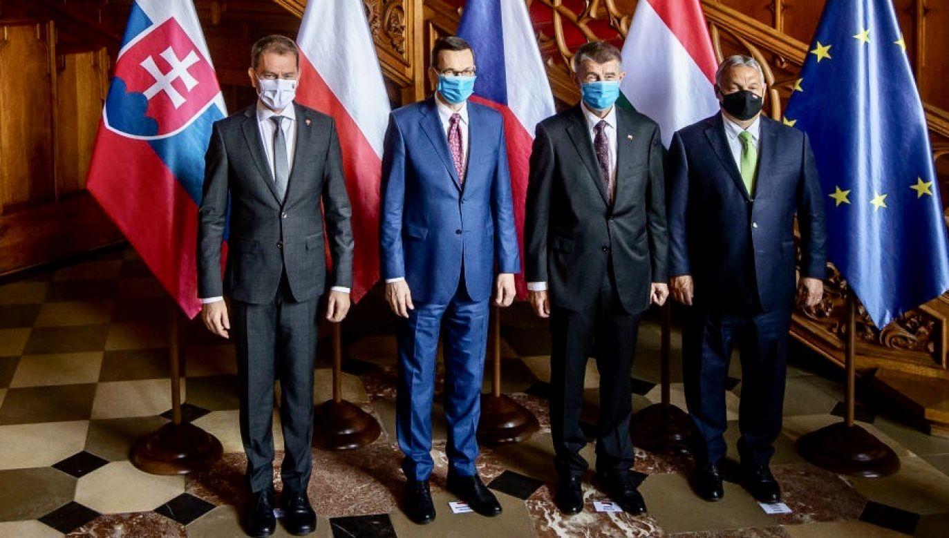 W piątek odbędzie się oficjalna inauguracja polskiego przewodnictwa w grupie Wyszehradzkiej, które nasz kraj objął 1 lipca (fot. Gabriel Kuchta/Getty Images)
