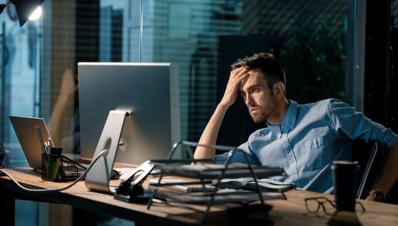 Powodem problemu jest przeniesienie pracy na home office (fot. Shutterstock/Altitude Visual)