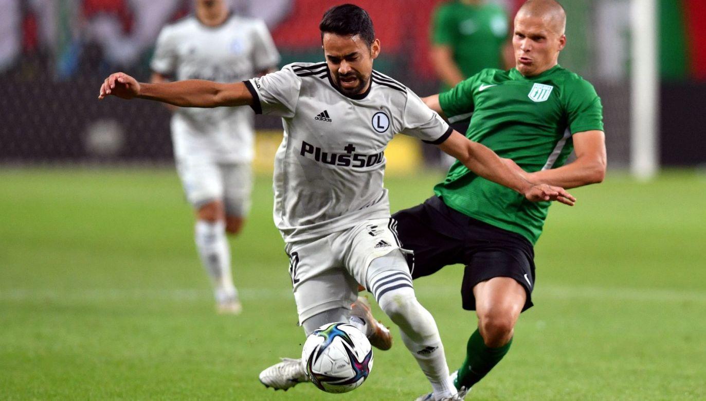 Transmisja meczu Dinamo Zagrzeb – Legia Warszawa w el. LM na żywo w środę w TVP (fot. PAP)