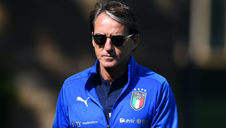 Roberto Mancini odmieniłgrę reprezentacji Włoch (fot. Getty Images)
