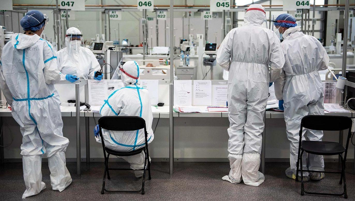 Raport o epidemii koronawirusa w Polsce (fot. PAP/Wojtek Jargiło)