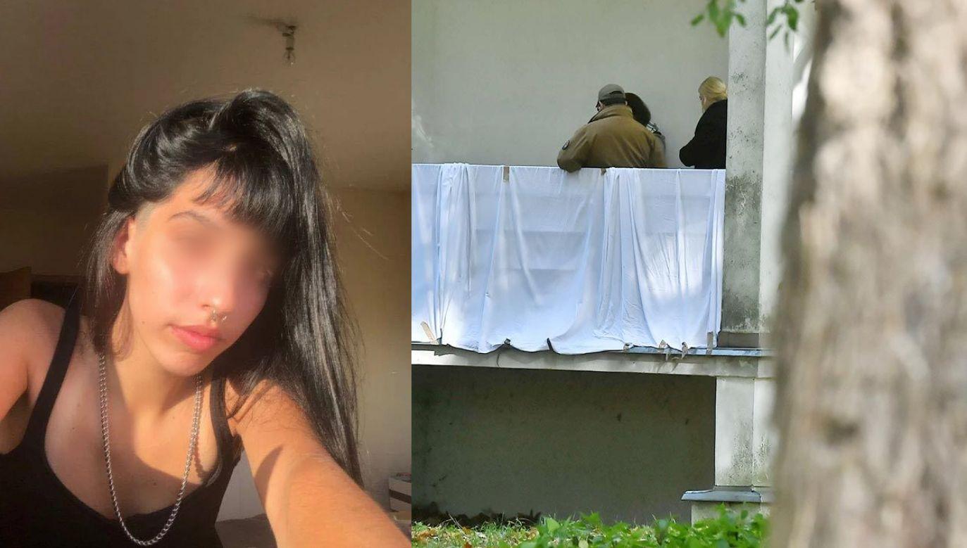 Portugalka została znaleziona na balkonie jednego z budynków AWF (fot. PAP/Andrzej Lange, PsicoEducar Centro de Estudos/Facebook)