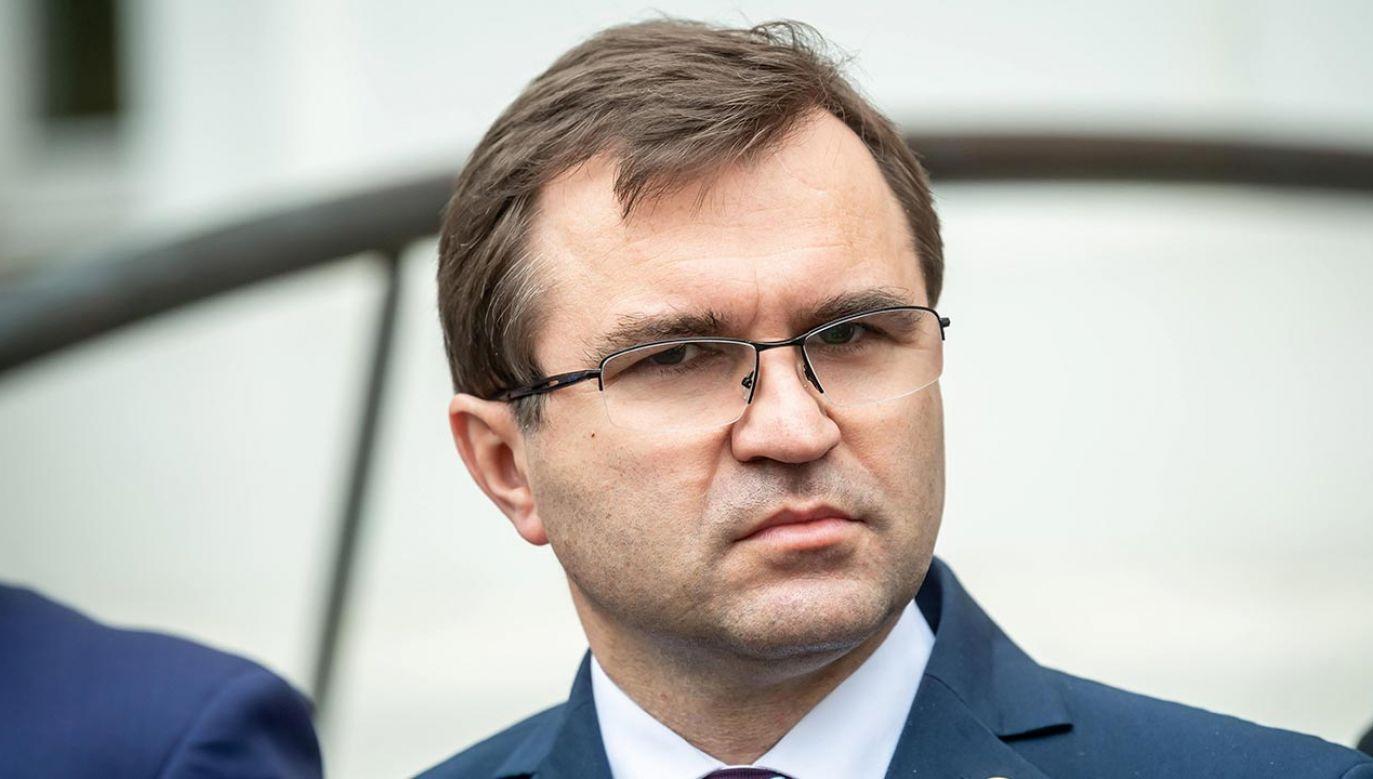 Girzyński wydał oświadczenie w sprawie szczepienia  (fot. PAP/Tytus Żmijewski)