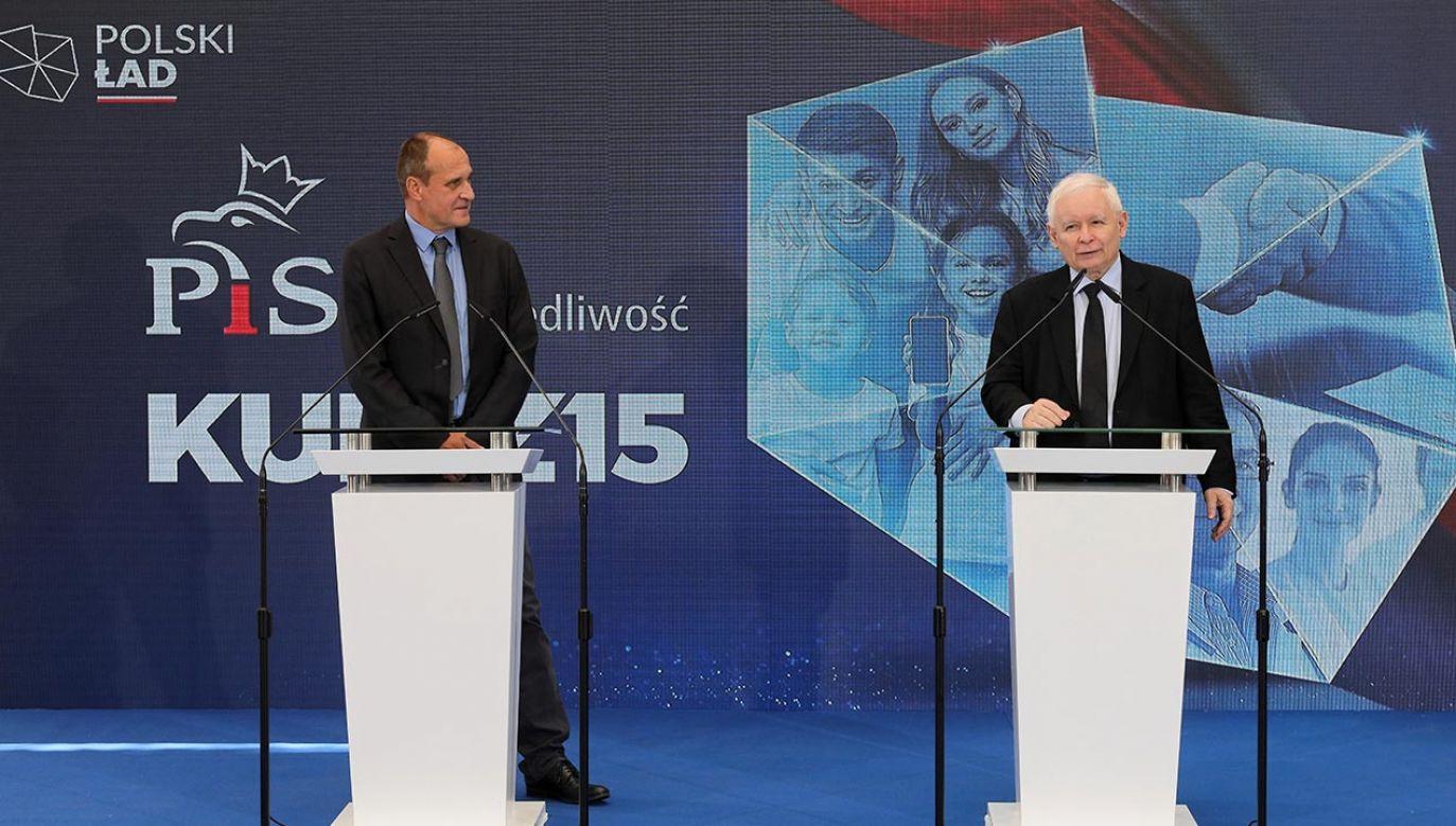 Poprzemy szereg ważnych ustaw – mówił prezes PiS (fot.  PAP/Paweł Supernak)