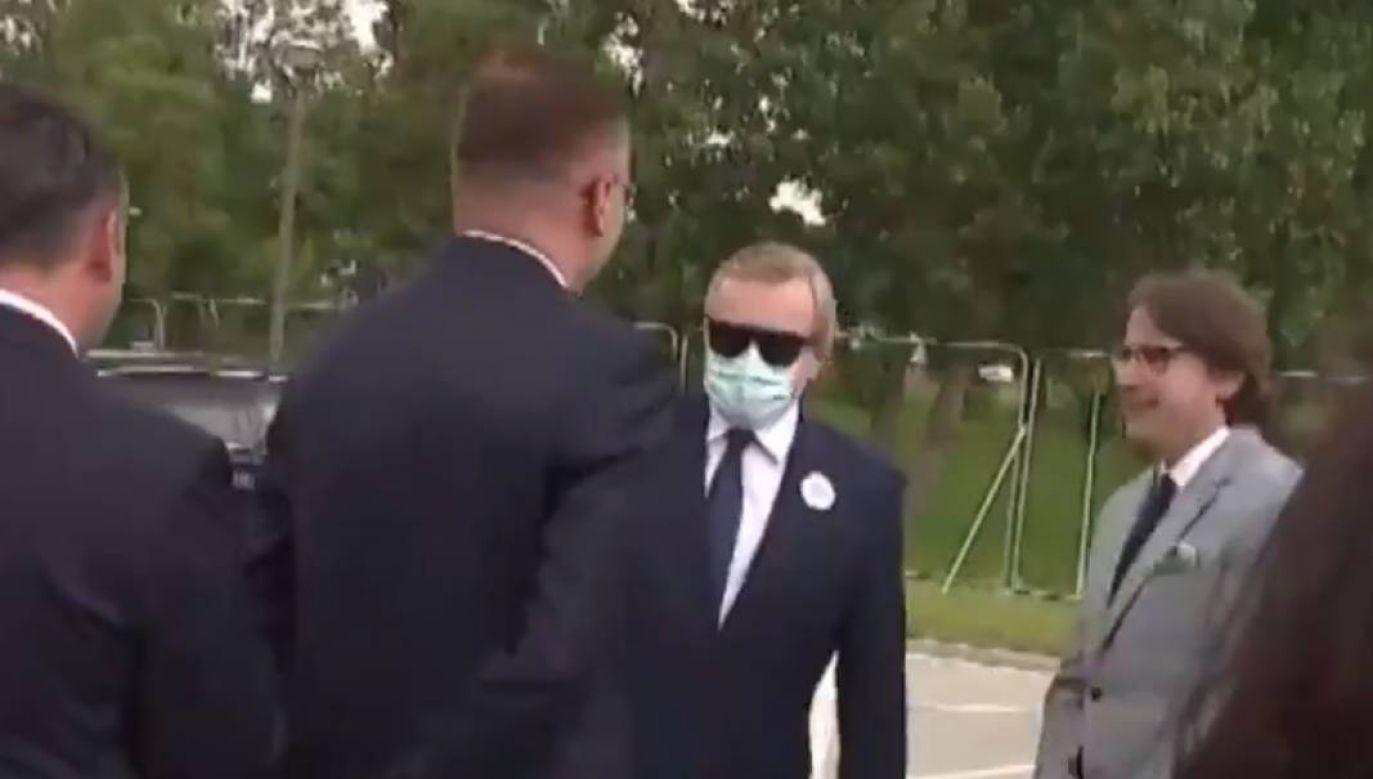 Wicepremier Gliński odwiedził powstające w Białymstoku Muzeum Pamięci Sybiru (fot. TVP)