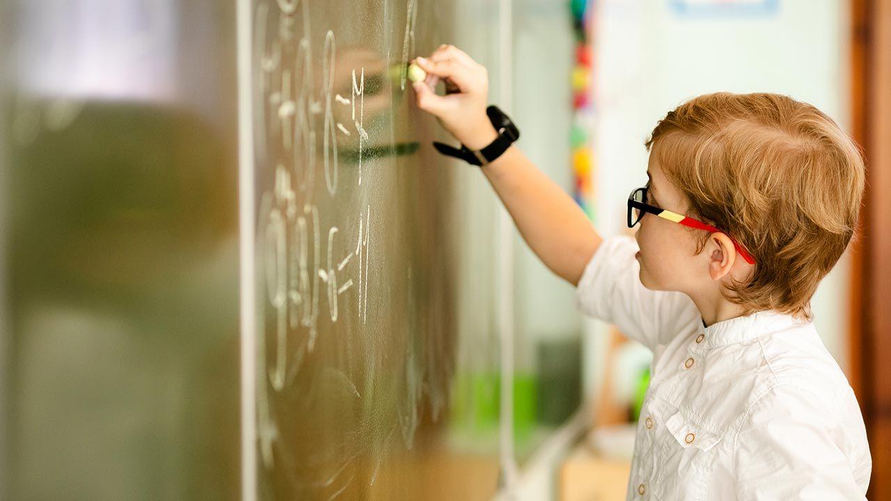 Wg sondażu rząd powinien najpierw zdecydować o powrocie do szkół dzieci z klas IV – VIII. (fot. Shutterstock/Lena May)