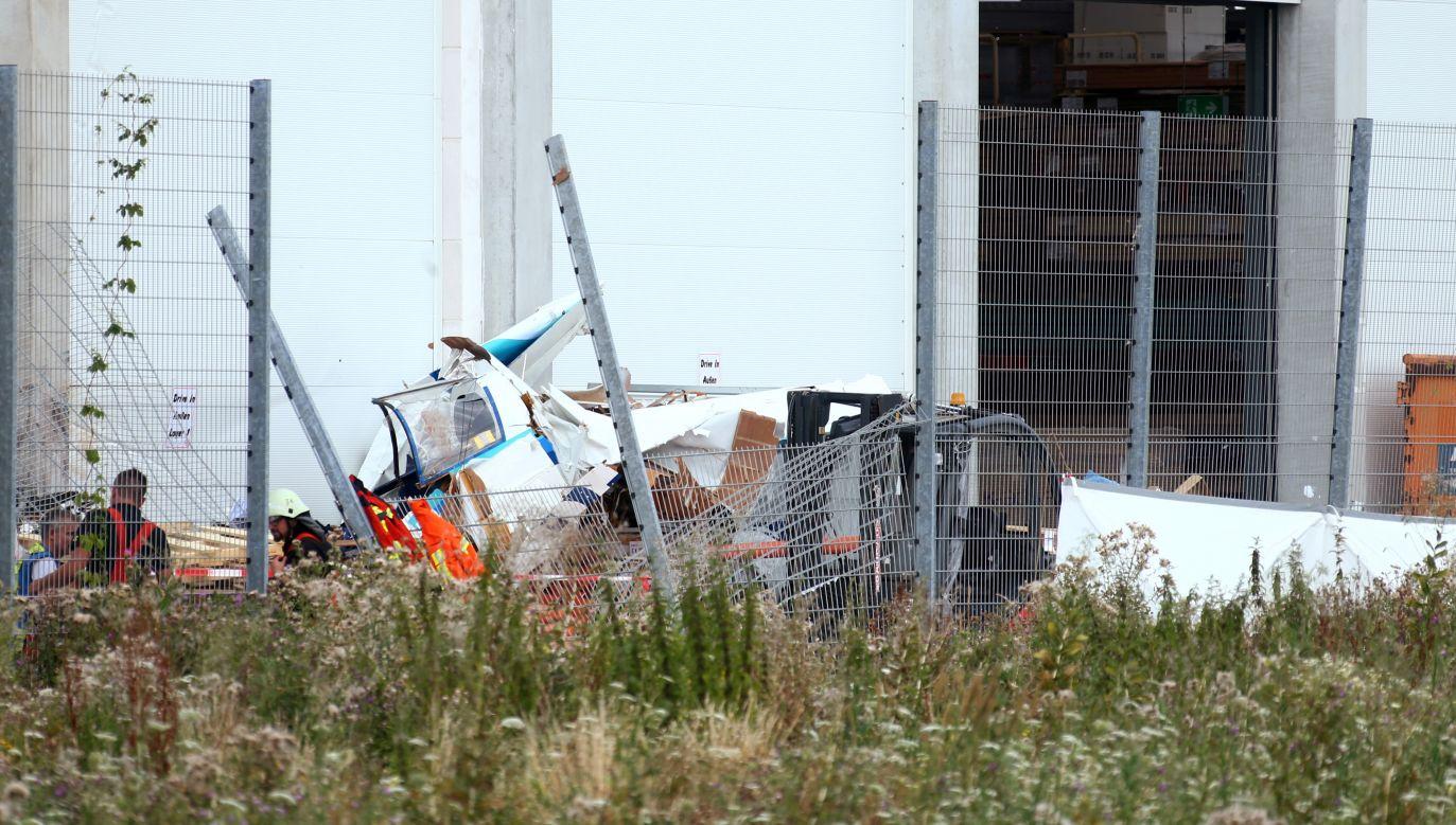 Maszyna próbowała dokonać nieplanowanego lądowania na pobliskim lotnisku (fot. Reuters/Ralph Orlowski)