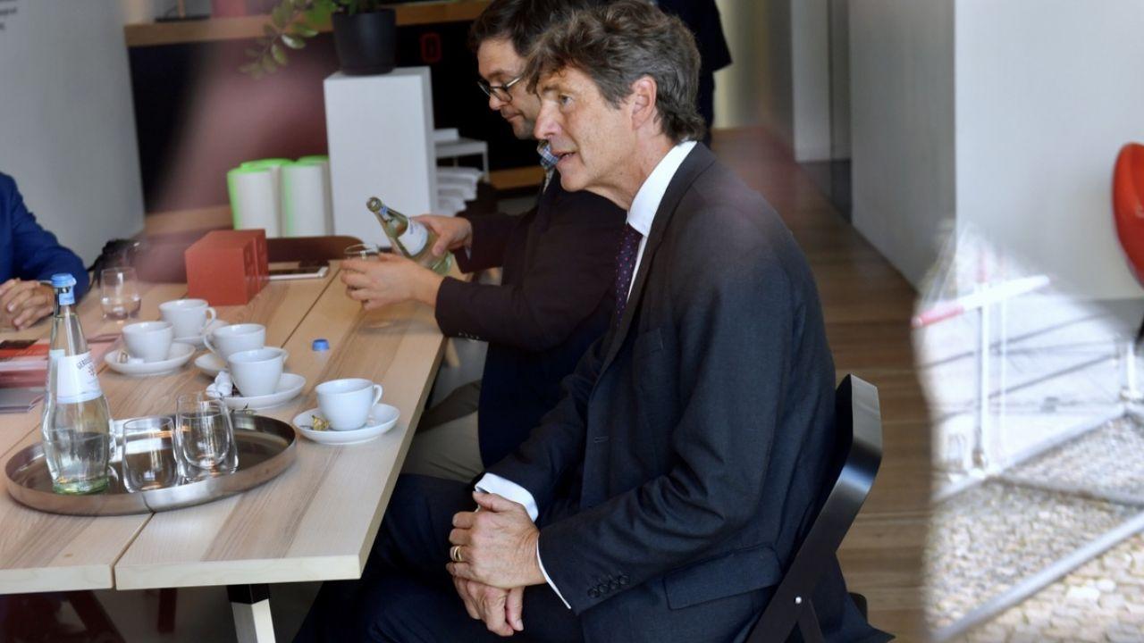 Arndt Freytag von Loringhoven będzie nowym ambasadorem Niemiec w RP (fot. PAP/Marcin Bielecki)