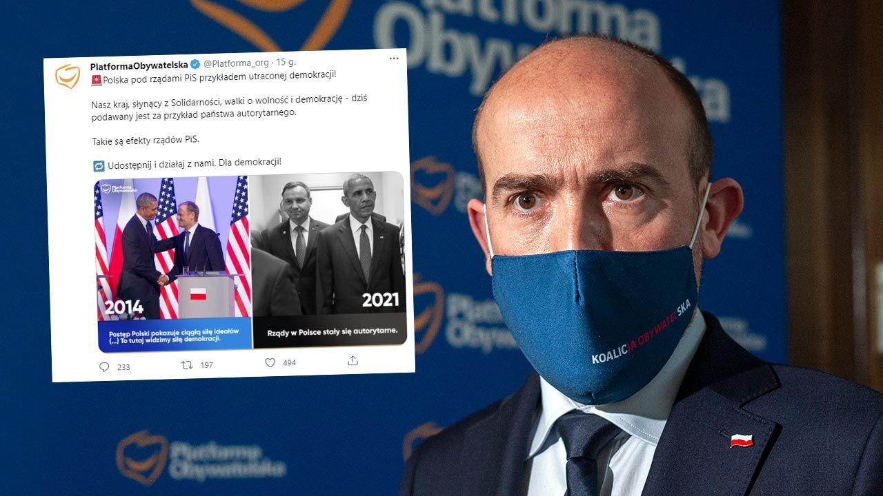 Platforma Obywatelska zostanie zablokowana na Twitterze? (fot. Forum/FotoNews/ GRZEGORZ KRZYZEWSKI)