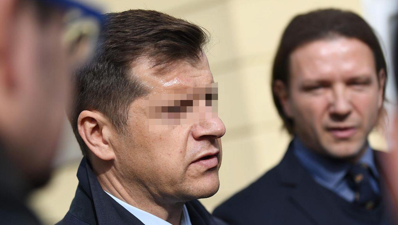 Lewandowski złożył zawiadomienie o uzasadnionym podejrzeniu popełnienia przestępstwa szantażu Cezarego K. (fot. PAP/Bartłomiej Zborowski)