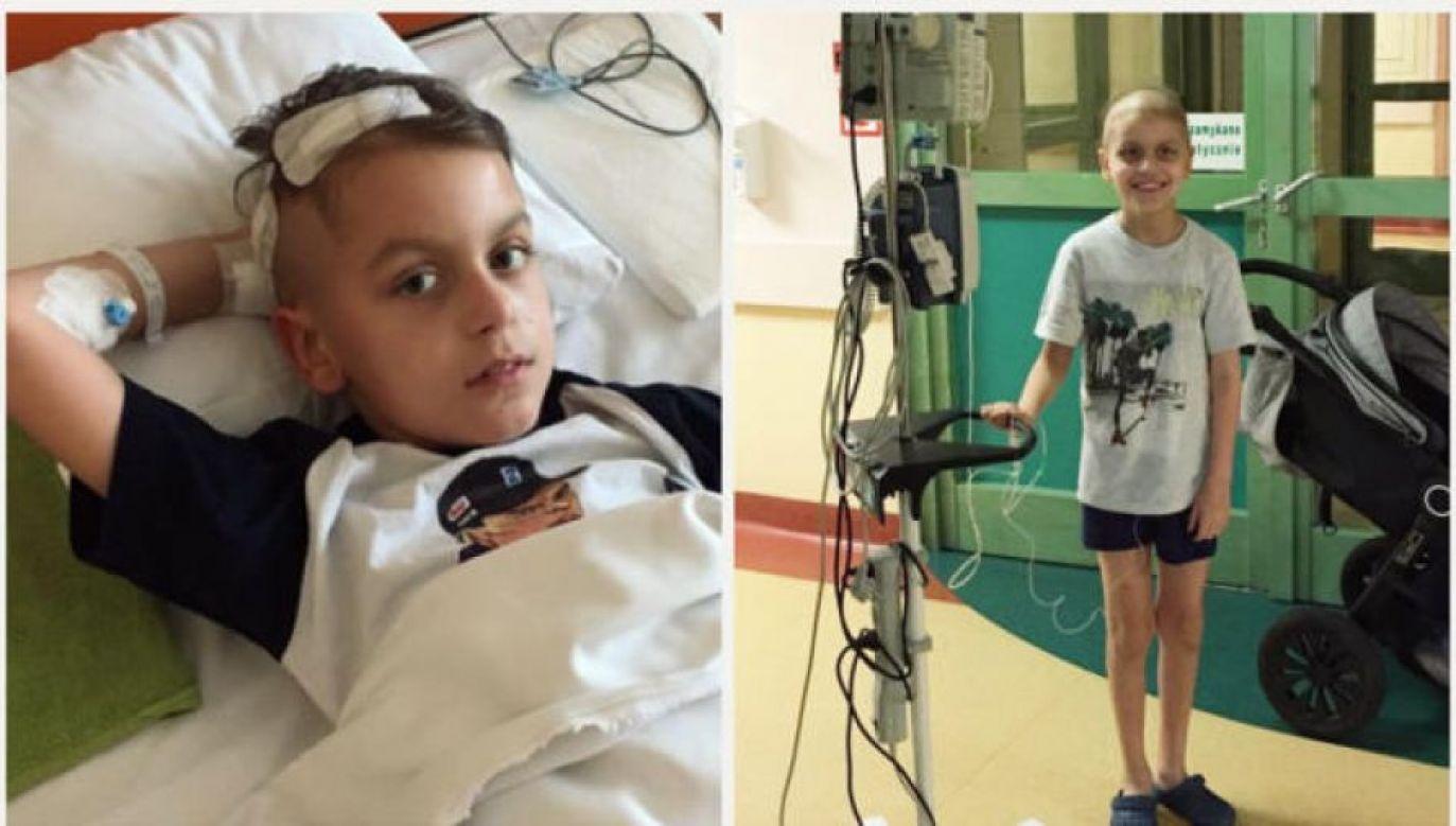 Do Stanów Zjednoczonych Mateusz poleci w poniedziałek razem ze swoimi rodzicami, a cała podróż zostanie zorganizowana przy pomocy rządowego samolotu (fot. siepomaga.pl)