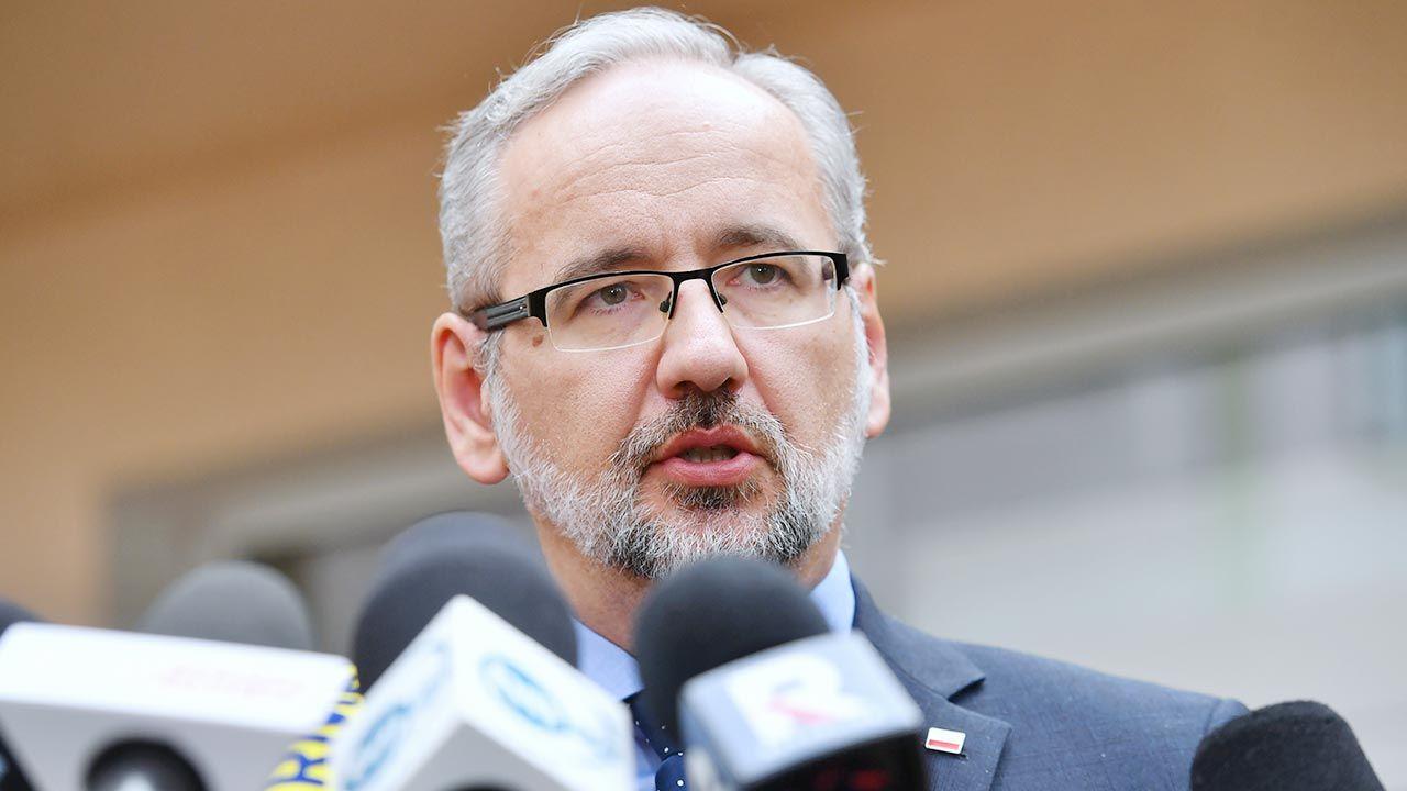 Adam Niedzielski zaznaczył, że obecnie życiu społecznemu zagraża fanatyzm (fot. PAP/Piotr Nowak)