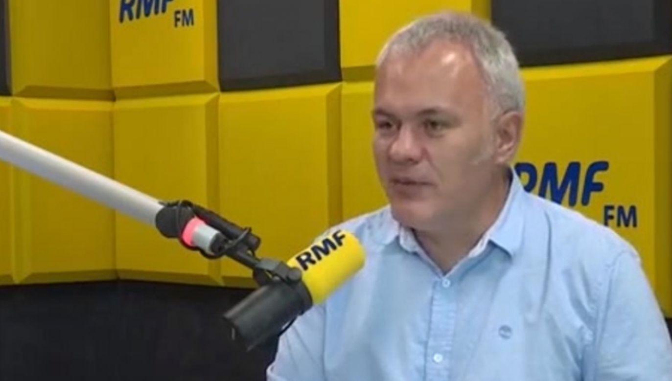 Dziennikarz i publicysta przyznał, że na temat inwigilacji za rządów Platformy zeznawał niedawno w prokuraturze (fot. yt/RMF)