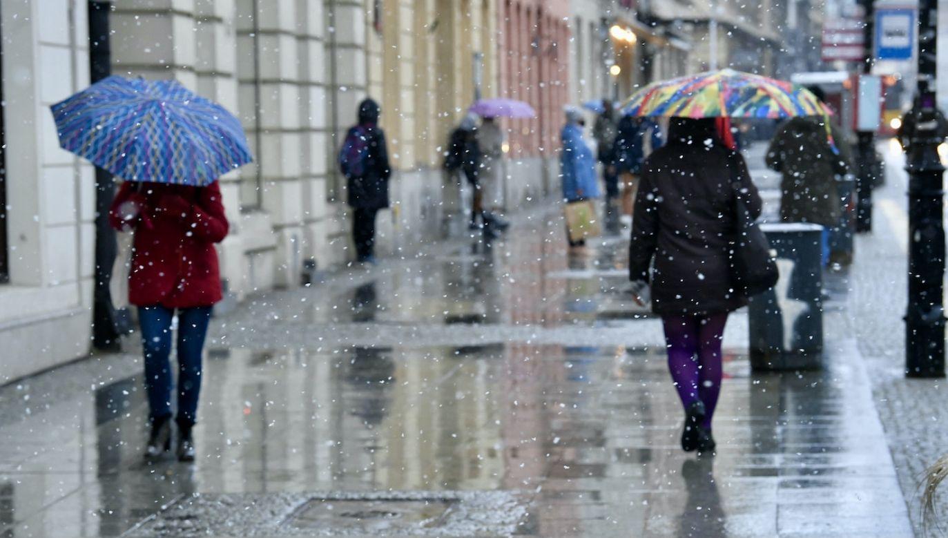 Prognozy są raczej słotne (fot. PAP/R.Pietruszka)