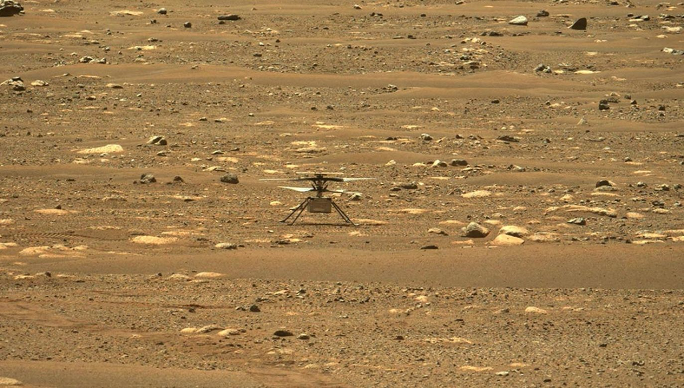 Pierwsza misja udana (fot. PAP/EPA/NASA/JPL-Caltech/HANDOUT)