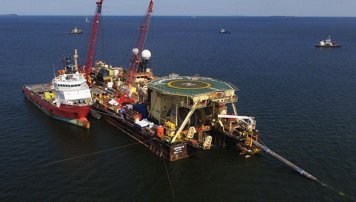 Niemieccy Zieloni już od dłuższego czasu sprzeciwiają się budowie Nord Stream 2 (fot.  Sean Gallup/Getty Images)