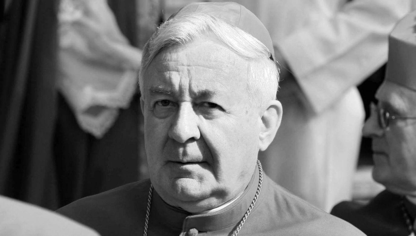 Abp Juliusz Paetz zmarł 15 listopada (fot. PAP/Bogdan Borowiak)