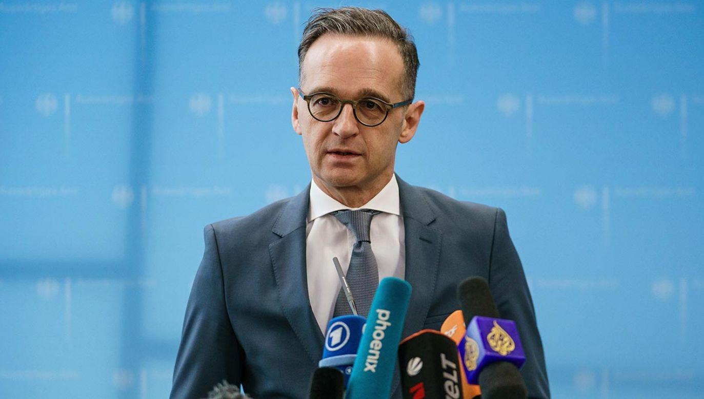 Heiko Maas (fot. PAP/EPA/CLEMENS BILAN)