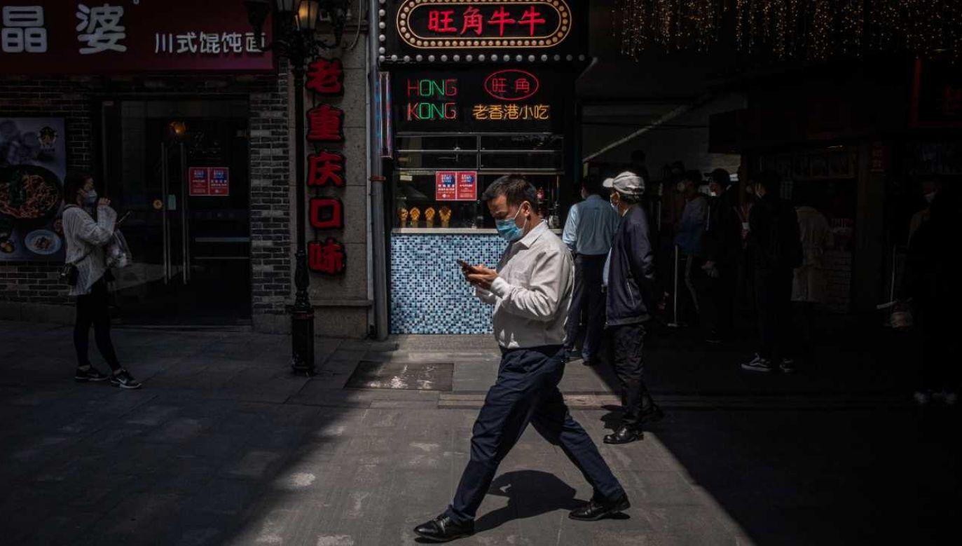Epidemia koronawirusa rozpoczęła się w mieście Wuhan (fot. PAP/EPA/ROMAN PILIPEY)