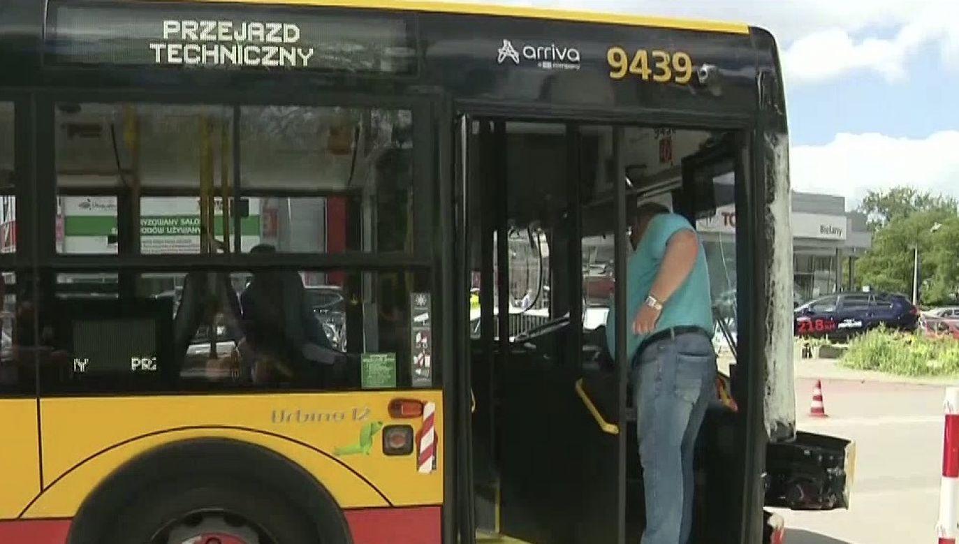 Kierowca został aresztowany (fot. TVP Info)
