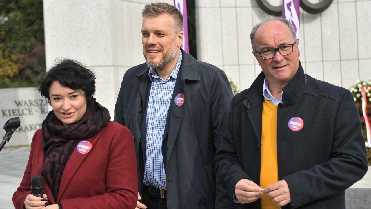 Postulaty Lewicy zaprezentowały jej liderki (fot.PAP/Radek Pietruszka)