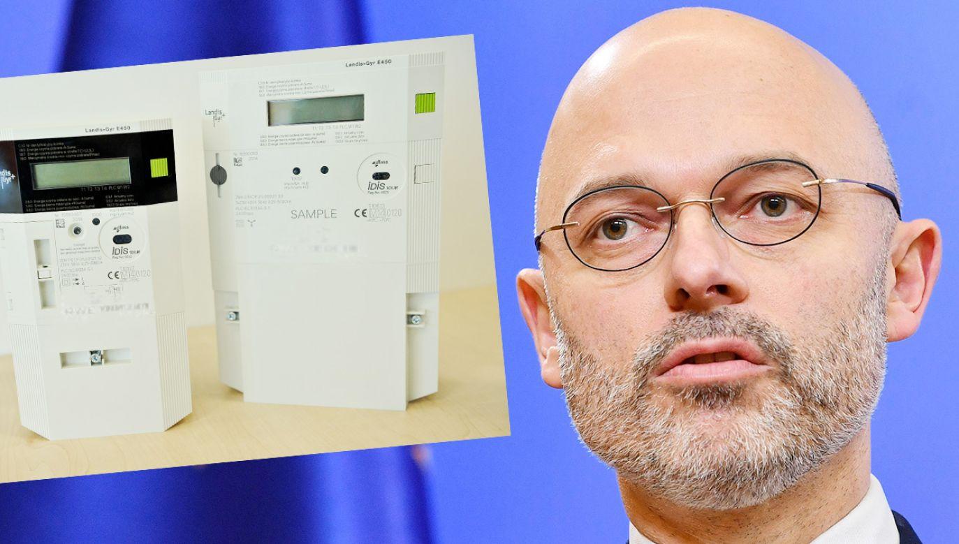 Zdaniem Ministerstwa Klimatu koszt zakupu i montażu tylu liczników wyniesie ok. 7 mld zł (fot. PAP/Radek Pietruszka; Marcin Obara)