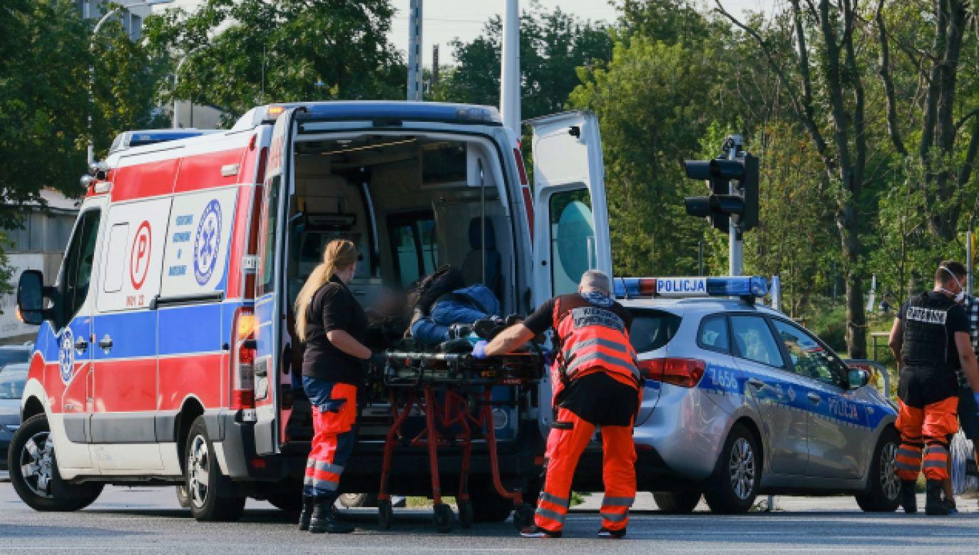 Najczęściej ratowników atakują pijani (fot. PAP/Mateusz Marek, zdjęcie ilustracyjne)