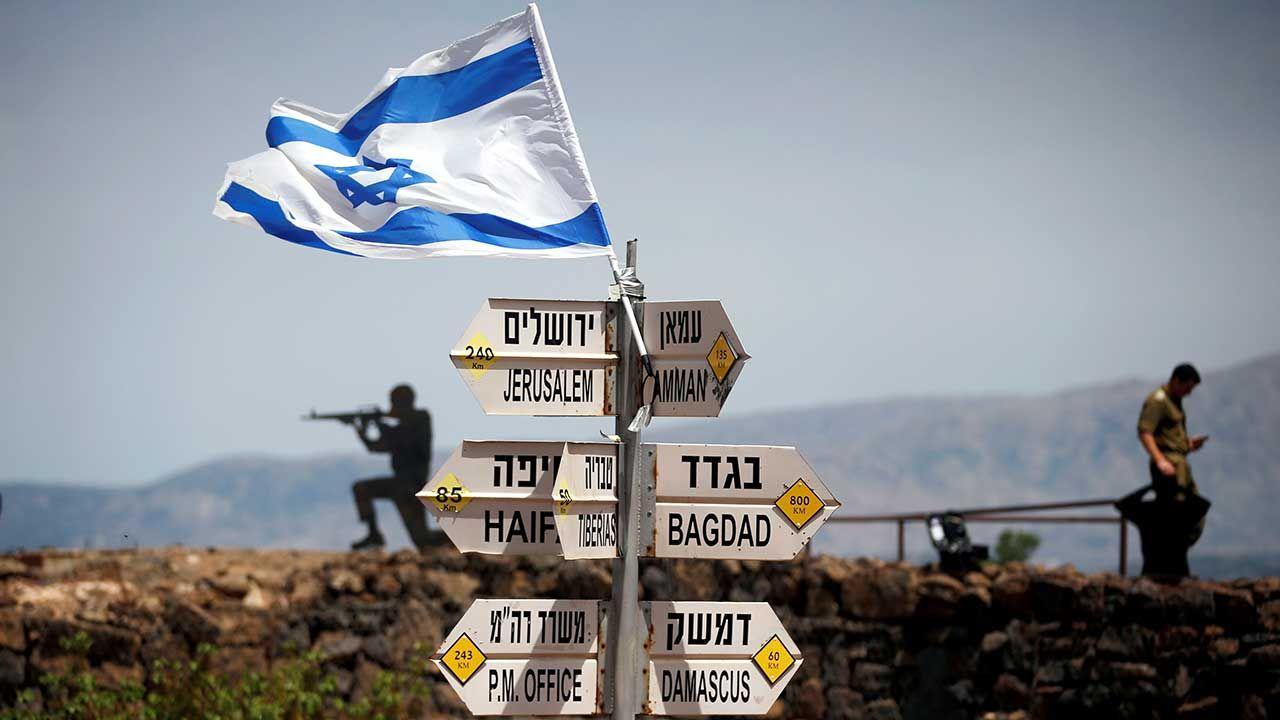 Izrael zajął Wzgórza Golan podczas wojny sześciodniowej (fot. arch. REUTERS/Ronen Zvulun)