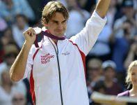 Roger Federer zdobył srebrny medal (fot. PAP/EPA)