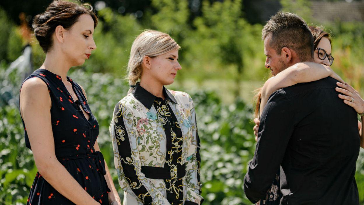 Rolnik podziękował za dalszy udział Wioli i Agacie (fot. P. Matey/TVP)