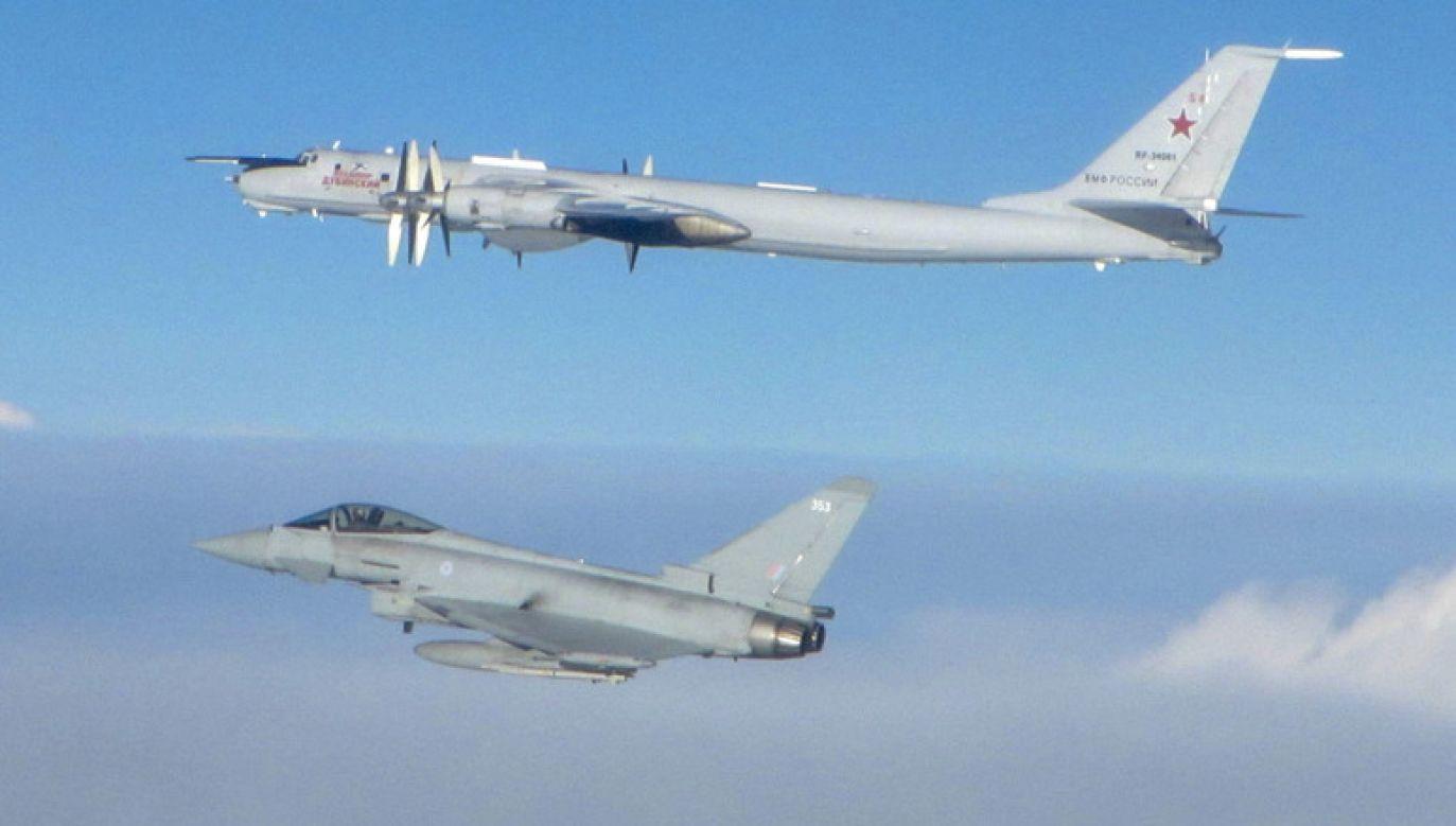 Myśliwce NATO wciąż startują do rosyjskich samolotów, które wykonują loty bez włączonych transponderów (fot. NATO)